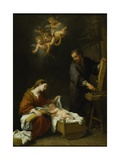 The Holy Family Giclee Print by Bartolome Esteban Murillo