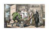 The Gross of Green Spectacles, Illustration from 'The Vicar of Wakefield' by Oliver Goldsmith,… Giclee Print by Thomas Rowlandson