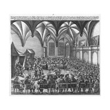 Reading of the Augsburg Confession on 25 June 1530 in the Augsburger Reichstag, C.1530 Giclee Print by German School