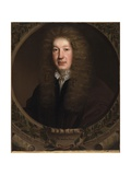 Portrait of John Dryden, C.1668 Giclee Print by John Michael Wright