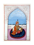 Maharajah Dulip Singh, from 'The Kingdom of the Punjab, its Rulers and Chiefs, Volume I', a… Giclee Print