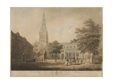 Salisbury Cathedral, 1798 Giclee Print by Edward Dayes