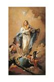 The Immaculate Conception, 1767-1769 Reproduction procédé giclée par Giovanni Battista Tiepolo
