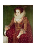 Margaret Hay, Countess of Dunfermline Giclee Print by Marcus Gheeraerts