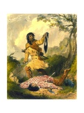 Death Whoop, 1853 Giclee Print by Captain Seth Eastman