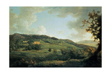 A View of Chatsworth Giclee Print by William Marlow