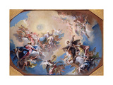 The Glorification of St. Felix and St. Adauctus Giclee Print by Carlo Innocenzo Carlone