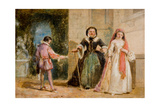 A Scene from Shakespeare Giclee Print by William Knight Keeling