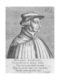 Portrait of Huldrych Zwingli, Published by Hondius, 1588-1649 Giclee Print by German School