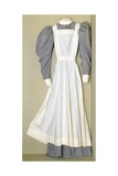 Part of a Nursing Uniform Belonging to Helen Riddick While at the Nightingale Training School at… Giclee Print