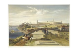 Hospital and Cemetery, Scutari, Plate from 'The Seat of War in the East', Pub. by Paul and… Giclee Print by William 'Crimea' Simpson