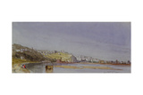 Lyon on the Saone and Rhone, 1836 Giclee Print by William Callow