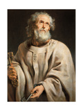 Saint Peter, 1610 Giclee Print by Peter Paul Rubens