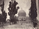 The Dome of the Rock on the Haram Al Sharif in Jerusalem, from the South, 1870 Photographic Print by Charles F. Tyrwhitt-Drake