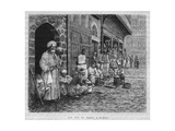 A Street in Damascus Baazar, from 'La Syrie D'Aujourd'Hui. Voyages Dans La Phenicie, Le Liban Et… Giclee Print by Pieter Codde