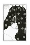 Portrait of Himself in Bed, from 'The Yellow Book' Vol. III, October 1894 Giclee Print by Aubrey Beardsley