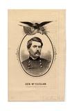 General Mcclellan Giclee Print by Louis Prang