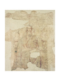 Madonna and Child Enthroned, Drawing for a Fresco Giclee Print by Paolo Di Stefano Badaloni Schiavo