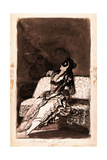 Awaiting His Arrival Giclee Print by Francisco de Goya