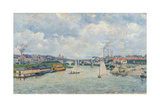 Charenton Port, 1878 Giclee Print by Armand Guillaumin