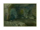 Crypt of the Church of St. Anne, Jerusalem, 1872 Giclee Print by William 'Crimea' Simpson