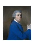 David Garrick, in High Overcoat Giclee Print by Jean-Etienne Liotard