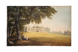 Harewood House from the South Giclée-Druck von John Varley