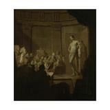 An Academy, C.1759-60 Giclee Print by John Hamilton Mortimer