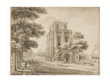 Salisbury Cathedral Bell Tower, 1768 Giclee Print by Francis Grose