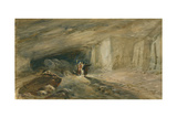 The Quarry Caverns, Jerusalem, 1869 Giclee Print by William 'Crimea' Simpson