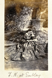 Florence Nightingale at Embley Park, 1858 Reproduction photographique