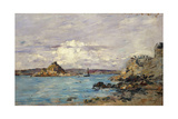 Study for 'The Bay of Douarnenez', C.1895-97 Giclee Print by Eugène Boudin