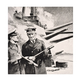 Admiral of the Fleet Sir John Michael De Robeck, from 'The War Illustrated Album Deluxe',… Giclee Print
