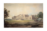 Harewood House from the North West, 1803 Giclée-Druck von John Varley