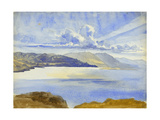 Dead Sea View Looking South, 1875 Giclee Print by Claude Conder