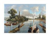 The Start at Henley Giclee Print by  Dickinson and Foster