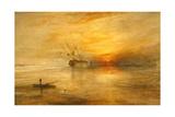 J. M. W. Turner - Fort Vimieux - Giclee Baskı