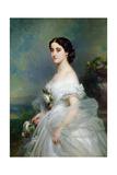 Adelina Patti Giclee Print by Franz Xaver Winterhalter