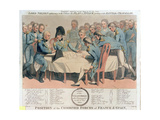 England Expects Every Man to Do His Duty. Lord Nelson Explaining to the Officers the Plan of… Giclee Print by William Marshall Craig