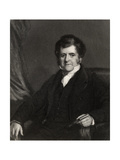 Richard Bright, Engraved by H. Cock, from 'The National Portrait Gallery, Volume I', Published… Giclee Print by Frederick Richard Say