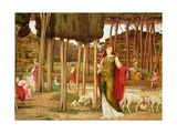 The Shulamite Giclee Print by John Roddam Spencer Stanhope
