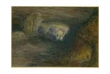The Quarry Caverns, Jerusalem, 1869 Giclee Print by William 'Crimea' Simpson