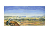 Plain of Esdraelon and Carmel, View from Ras El'Akrah, 1872 Giclee Print by Claude Conder