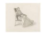 Portrait of Elizabeth Siddal, 1854 Giclee Print by Dante Gabriel Rossetti