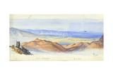 Karn Sartabeh, Jordan Valley, 1872 Giclee Print by Claude Conder