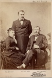Julia T (Dent) Grant (1826-1902); Ulysses Simpson Grant (1822-85), Union Army General, 18th… Photographic Print by Isaiah Taber
