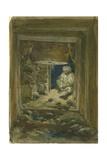 Gallery under Golden Gateway, Jerusalem, 1871 Giclee Print by William 'Crimea' Simpson