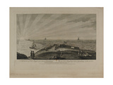East View of Fort Royal in the Island of Guadeloupe, Engraved by Peter Mazell (Fl.1761-97)… Giclee Print by Archibald Campbell