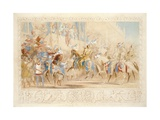 The Presentation of the Knight Giclee Print by James Henry Nixon