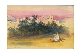 Jeba Village, 1872 Giclee Print by Claude Conder